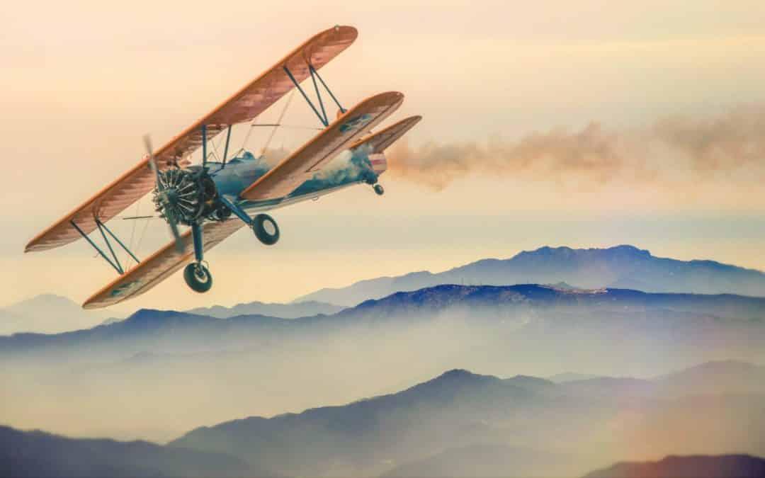 L'invention de l'avion: De Léonard de Vinci aux Frères Wright!